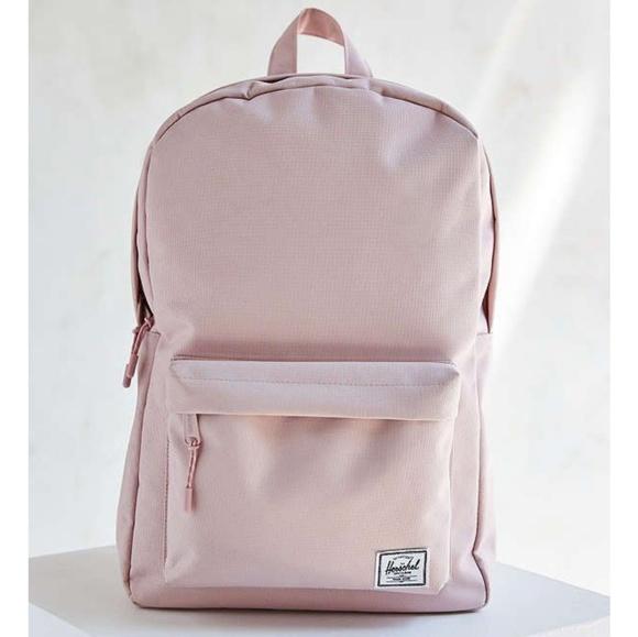 Herschel Pale Pink Classic Mid Volume Backpack 022dee2911c91